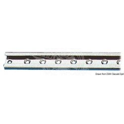 Rail inox 25 mm (barre 1m)