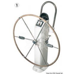 LEWMAR compact folding wheel 91 cm