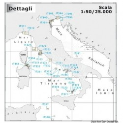 Carte Navimap IT321-IT322