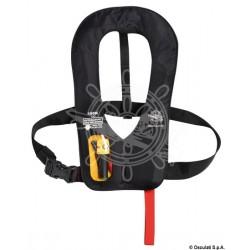 Gilet de sauvetage autogonflant Manuel Compact 150 N (EN ISO 12403-3) Noir