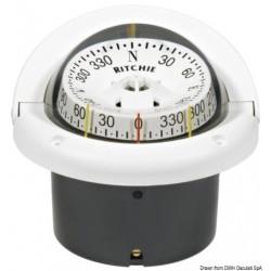 """Compas lect.comb. RITCHIE Helmsman 3""""3/4 blanc/bla"""